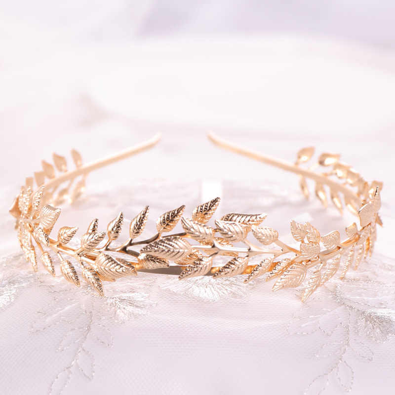 oro SUPVOX diadema de la diosa romana griega tocado de corona tocado de boda nupcial decoraciones para el cabello