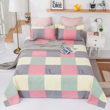 Bed-Sheet Single-Piece Pillow-Case Dormitory Twill Plant Thickened Non-Ball Student