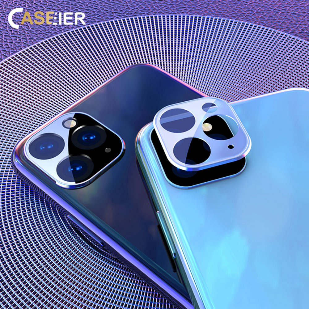 CASEIER Back Camera Lens Screen Protector Tempered Glass For IPhone 11 11 Pro Max Screen Protector Tempered Glass