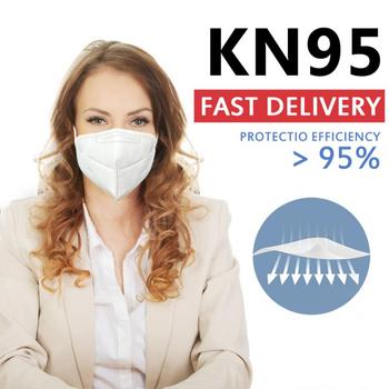 N95 KN95 Mask FFP3 FFP2 Mask PM2.5 Face Mask Anti Pollution Anti-dust ffp3 Mask N95 Respirator Mask Unisex N95 Mask Dropship