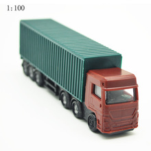 1/100 Scale architectural model plastic miniature Model truck Color Van