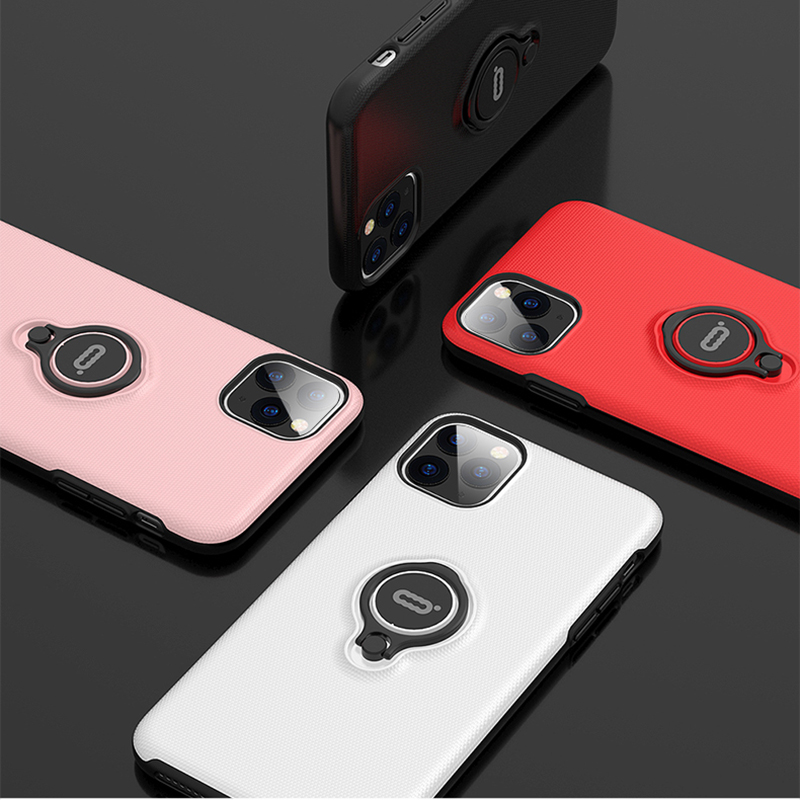 Image 5 - iconflang For iPhone 11 Pro Max Case Car Holder Stand Magnetic Bracket Hard PC Cover Case For iPhone 11 Pro Funda Coque CapaFitted Cases   -
