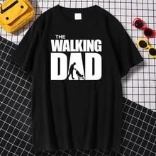 Summer T-shirt The Walking Dad T Shirt Men Cool Casual Mens Tshirt Fashion Hip Hop Tops Streetwear Father's Day Gift Tee shirts