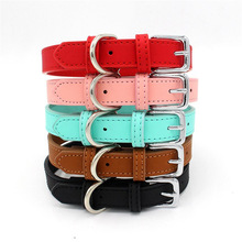 Pets-Supplies-Accessories Puppy-Collar Adjustable Small Comfortable Solid XS-M Zinc-Alloy