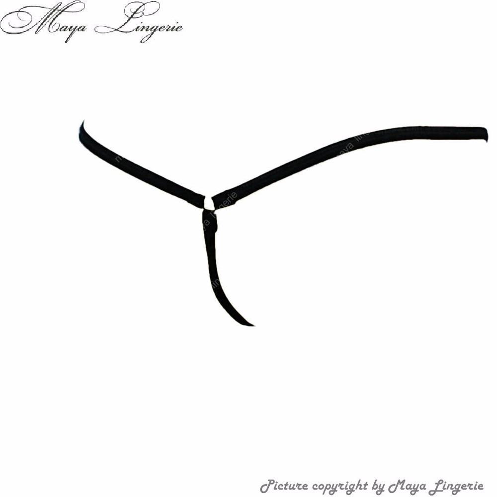 Black Panties sexy Unterwäsche Frauen Micro Tanga Tangas - Unterwäsche - Foto 2