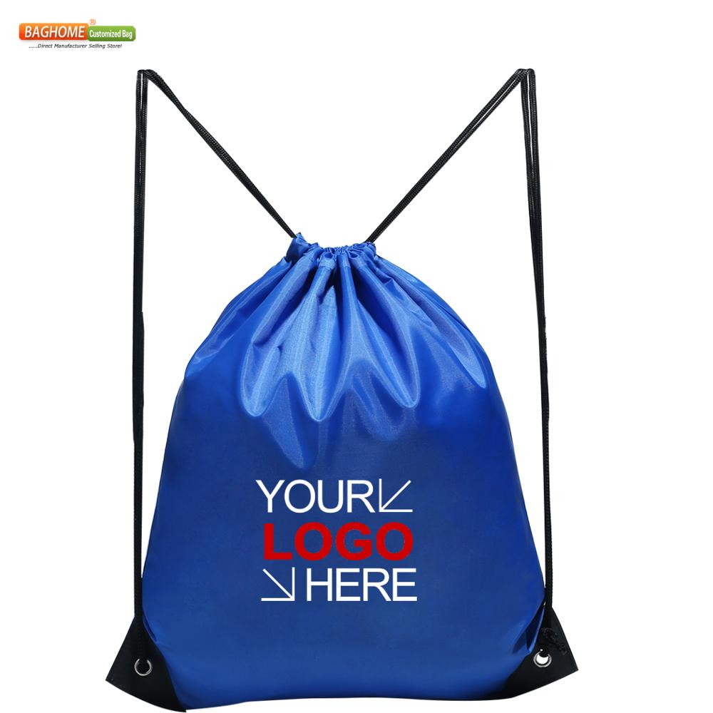 100pcs/lot Drawstring Backpack , Polyester Cinch Sacks String Backpack For Traveling, Gym, Yoga & Other Outdoor Sports