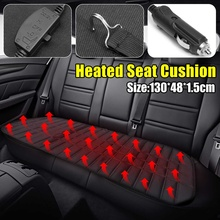 12 v traseira do carro de volta aquecida aquecimento assento almofada capa inverno carro aquecedor automático acessórios automotivos 42 w
