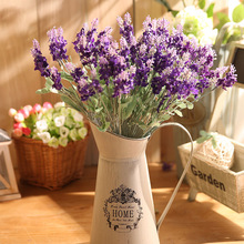 yumai 30cm Lavender Fake Flowers Branch Purple Silk Artificial Fall Romantic Wedding Centerpieces Decoration