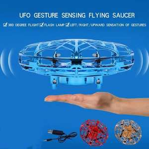 Toy Mini UFO Flying-Saucer Induction-Suspension Anti-Collision Gesture Electric Children's