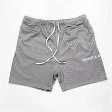 2020ss Mesh Essentials Boxy FOG Shorts Men Wome 1:1 High-Qua