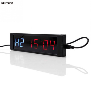 Image 1 - Programmable Training Timer LED Display Interval Timer Wall Clock with Remote for Gym Fitness Training 5V