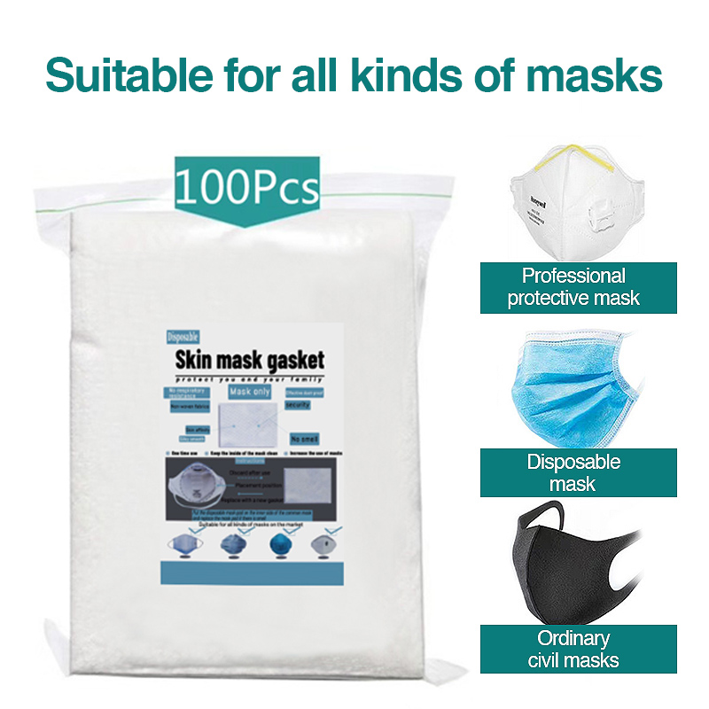 100pcs 500pcs Disposable Facemask Filter Pads For Kids Adult Face Mask Protection Mask Filter Pad Suitable For Protective Masks