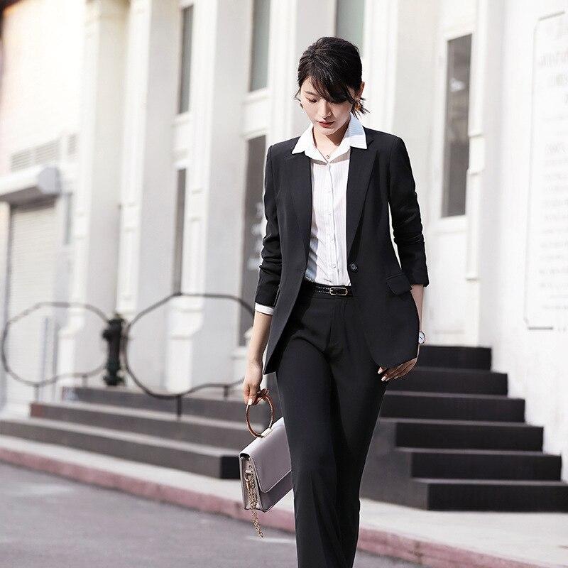Женское пальто, осень 2019, новое, повседневное, модное, темпераментное, свободное, одноцветное, двубортное, маленький костюм, женская рубашка