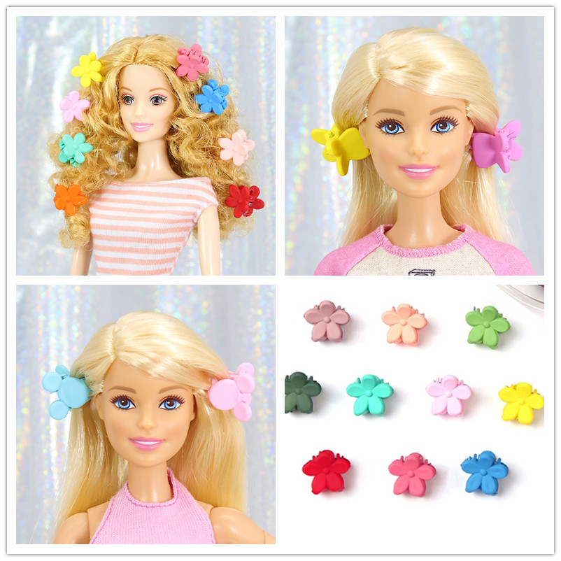 50pcs Mini Hairpin for Cute Girl Dolls Hair Style Accessories DIY Making