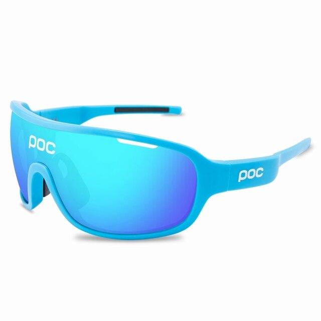 4 lente poc ciclismo óculos de sol ao ar livre óculos de ciclismo 3