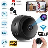 Mini cámara A9 V380 Pro App 128G HD 1080P, ángulo de visión de 150 grados, inalámbrica, WiFi, IP, Monitor de red, cámara de VERSIÓN NOCTURNA de seguridad