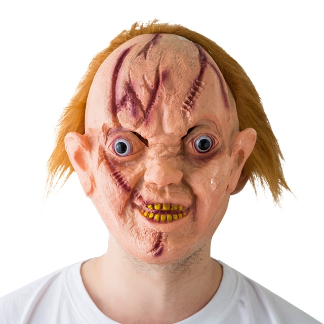 13 Types Masquerade Halloween Horror Mask Adult's Cosplay Realistic Latex Creepy Party Scary Mask Halloween Costume Mascarillas 3