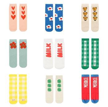 Childrens Candy Colors Long-Socks