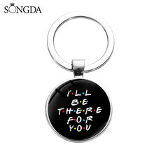 Keychains Key-Ring Keyholder Monica Gifts Central Perk Coffee-Time Tv-Show Apartament-Door