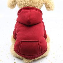 Nova roupa para cães de estimação roupas para cães pequenos roupas quentes para cães casaco filhote de cachorro roupa para cães grandes hoodies chihuahua