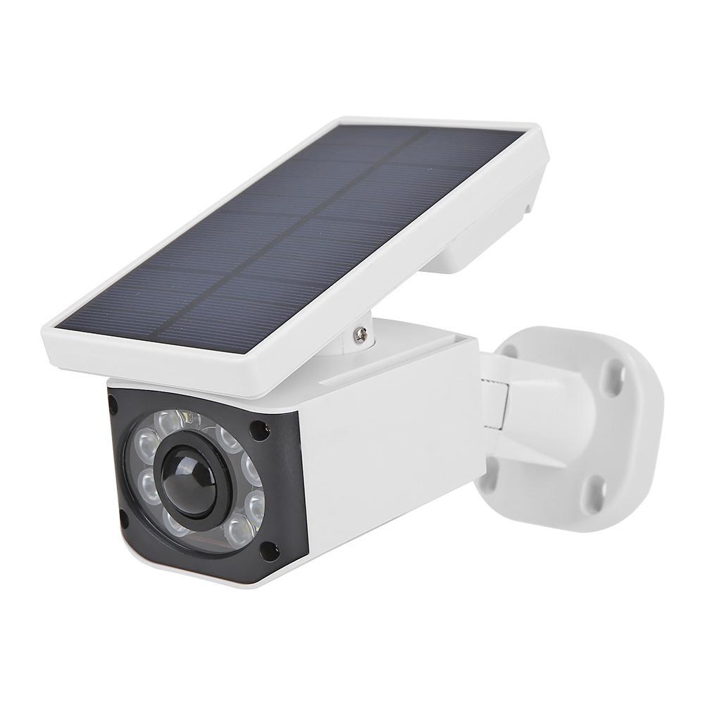 Outdoor Solar Fake Camera Wall Light PIR Motion Sensor Garden Yard Security Lamp Detection Method Infrared Passive Mode