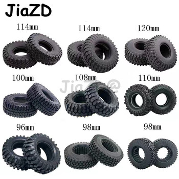 4pcs 1.9inch Rocks Tyres Tire Rubber Wheel Tire for 1:10 RC Rock Crawler TRX4 Bronco D90 D110 Axial scx10 90046 RC4WD CC01 TF2