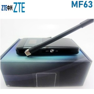 Image 2 - ZTE MF63 3G 21Mbps جيب موزع إنترنت واي فاي المحمول واي فاي فتح مع الجيل الثالث 3g هوائي