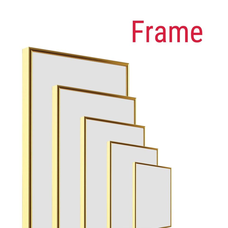 Эра алюминиевая рамка для холста картина фабрика предоставляет DIY настенная фоторамка Плакат рамка настенная художественная рамка художес...