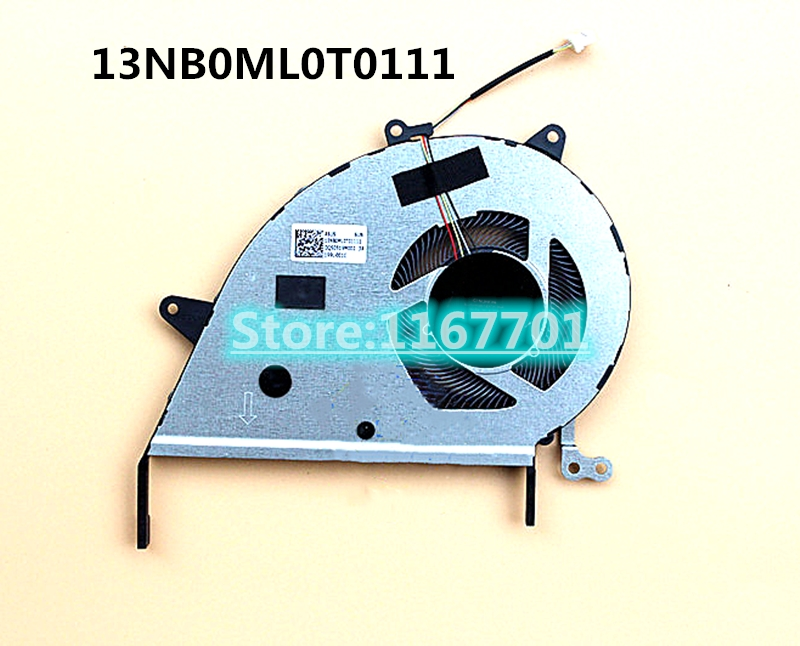 New original Laptop CPU Cooling Fan For ASUS TUF GAMING X432 X432F X432FL X432FLC 13NB0ML0T0111 EG50050S1-CF31-S9A image