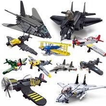 Ww2 samolot kompatybilny wojskowy technic samolot armia us pancerz myśliwce klocki wojna światowa 1 2 i ii