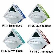 Tenuto in mano doppio lato della finestra magnetico di vetro spazzola di pulizia per il lavaggio di windows cleaner superficie di vetro Strumento pennello 3 30mm