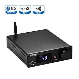 BRZHIFI NXC06 Dual AK4493 Audio Decoder CSR8675 Bluetooth 5.0 AK4113 Decoder With TPA6120 Headphone Amplifier PCM 384KHz DSD512