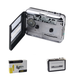 Image 1 - USB Cassette Player Cassette to MP3 Converter Capture Music Player Cassette Tape Recorder Support Windows 7/8