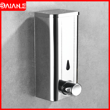 цена на Liquid Soap Dispenser Stainless Steel Bathroom Shower Gel Shampoo Dispenser Hotel Toilet Kitchen Soap Dispenser Wall Mounted