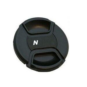 Image 3 - 30 adet/grup 49 52 55 58 62 67 72 77 82 86mm merkezi pinch Snap on kapatma başlığı için canon nikon kamera Lens ile parça numarası