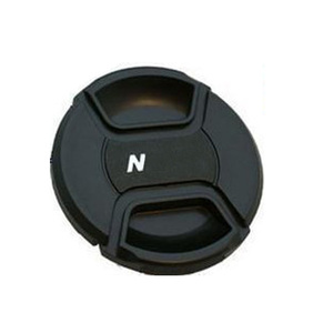 Image 3 - 30pcs/lot 49 52 55 58 62 67 72 77 82 86mm center pinch Snap on cap cover for canon nikon camera Lens with track number