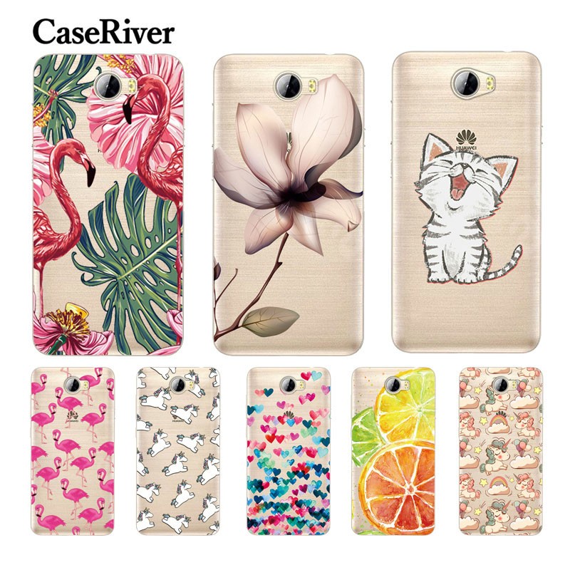 "CaseRiver For 5.0 ""Huawei Honor 5A LYO-L21 Case Cover For Huawei Y5 II Case Cover For Huawei Cun-U29 CUN-L21 CUN-L01 Obudowa na telefon"
