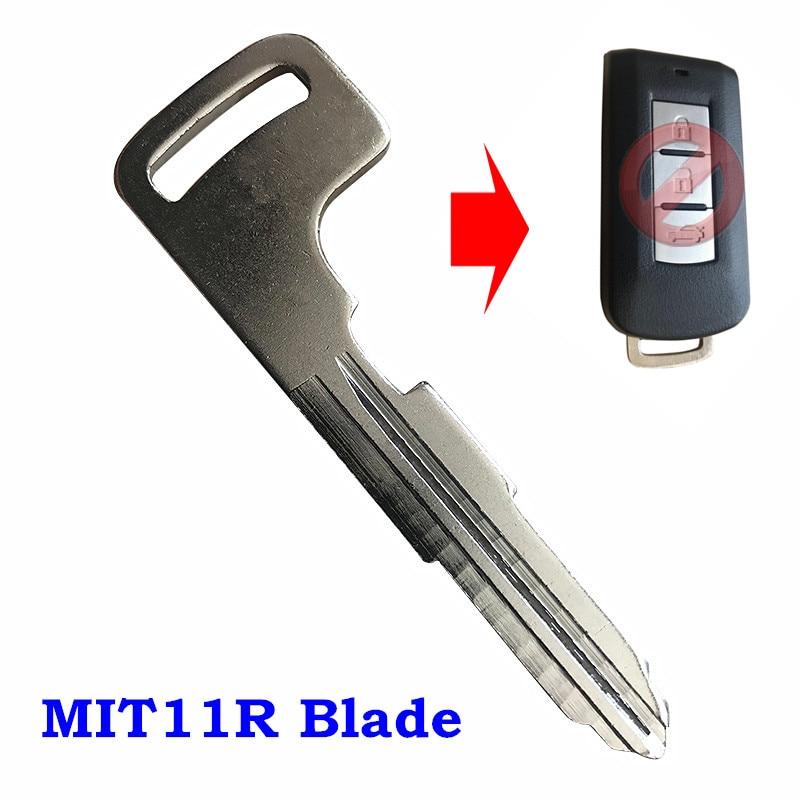 New Replacement Prox Smart Key Remote Keyless Emergency Insert Uncut Blade Blank
