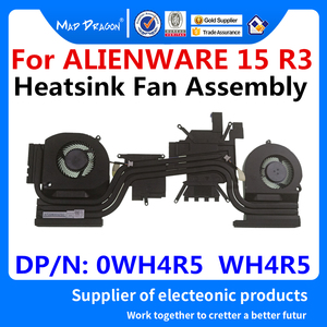 new original Laptop CPU/Graphics Cooling Heatsink Fan Assembly For Dell Alienware 15 R3 AW15 R3 GTX1060M GTX1070M 0WH4R5 WH4R5(China)