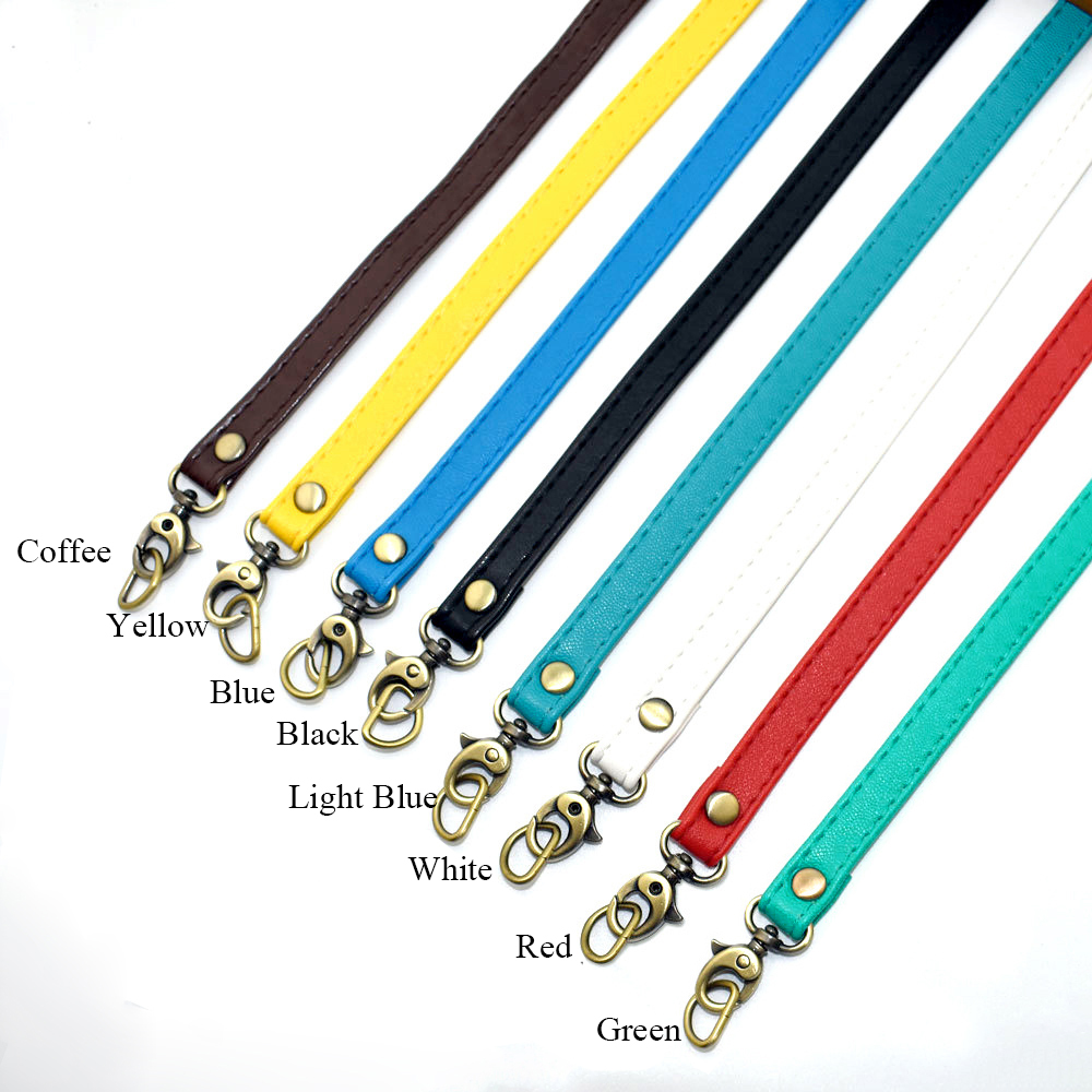 Leather DIY Replacement Purse Strap Portable Unisex Handbag Strap Wallet Handbag Handle Bag Belt Solid Color Accessories For Bag
