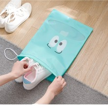 Portable Storage Bag Waterproof Shoes Bag Convenient Travel Tote Drawstring Bag Dustproof Luggage Organizer