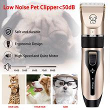 Professional Pet Dog Hair Trimmer Animal Grooming Clippers Cat Cutter Machine Shaver Electric Scissor Clipper professional pet hair trimmer electric rechargeable cat dog clipper grooming cutters powerful shaver machine for animal 110 240v