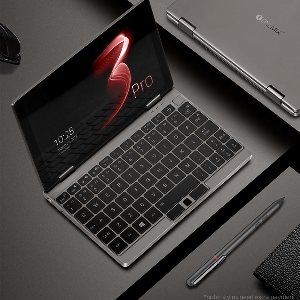 One Mix 3pro Platinum Edition Yoga Pocket Laptop Core i7-10510Y Dual-Core 8 4inch IPS 16G 512G Dual Band WIFI Type C Gift Bag