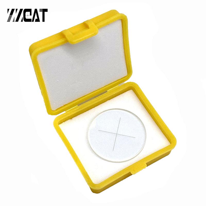 937 Crosshair Graticule Value Cruciform Plate External Internal Micrometer Graticule Microscope Reticle