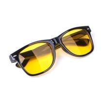 Unisex Yellow Lenses Night-Vision Glasses Driving Glasses  R9JE