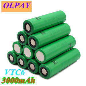 2020 original 3.7V 3000 mAh Li ion rechargeable 18650 battery for us18650 vtc6 20A 3000mah for Sony toys tools flashlight