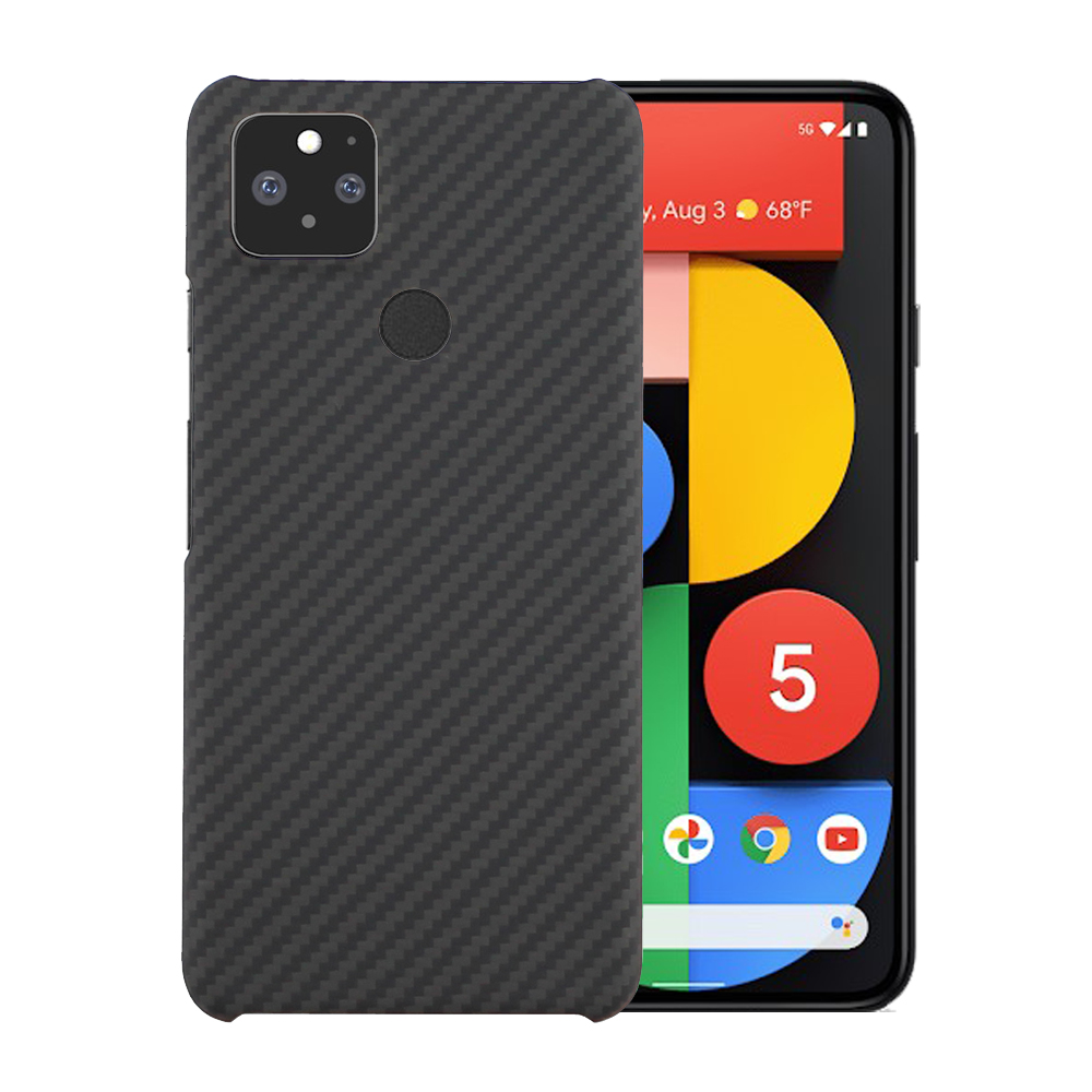 Real Pure Carbon Fiber Case For Google Pixel 5 Case Aramid Fiber Ultra Thin Anti-Fall Business Phone Cover For Pixel 4A 5G