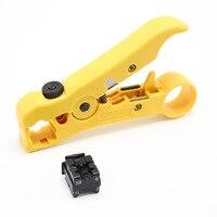 1 pçs cabo coaxial clipe de fio cortador de corte stripper ferramenta de corte  mini portátil removível e retrátil cabo braçadeira ferramenta