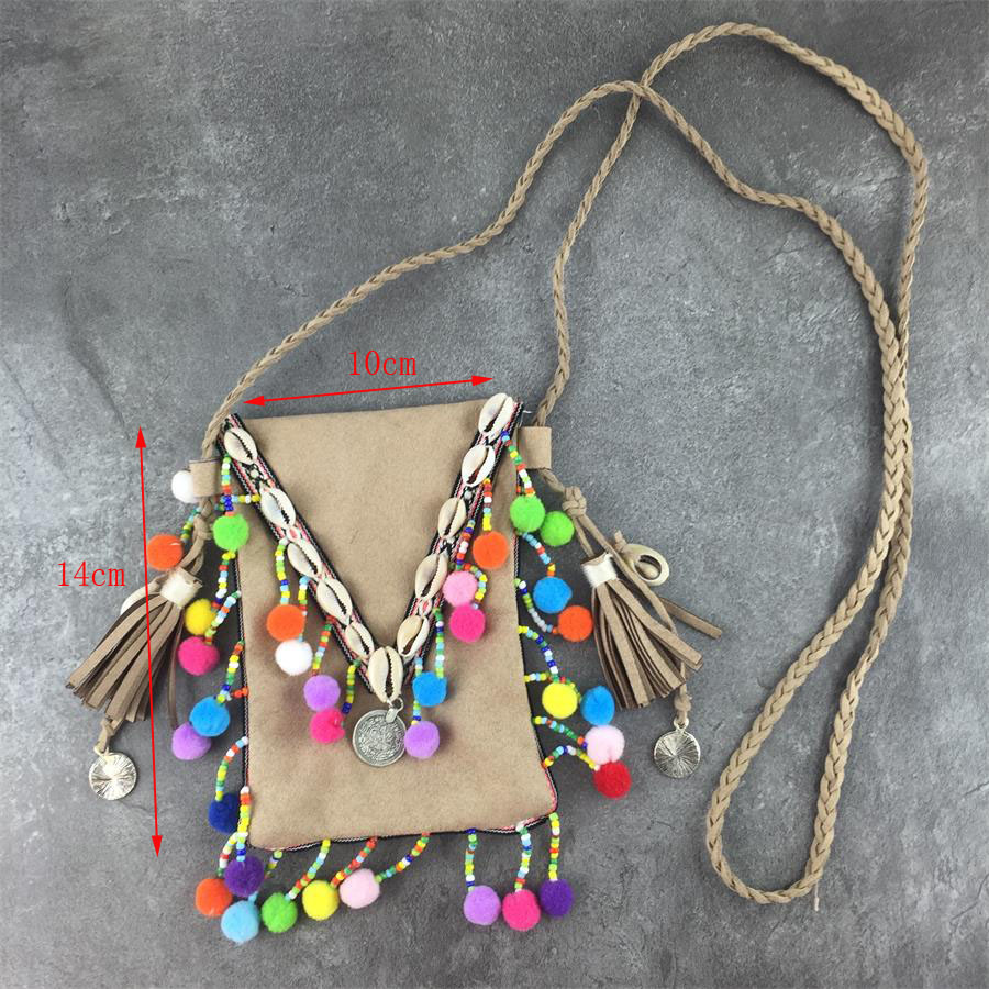 Hf2e9414c18f44385838538bf57965e672 - Vintage Bohemian Skull Fringe phonBags Chain Women Shoulder Messenger Crossbody Bag Boho Hippie Gypsy Women's Handbags free Gift