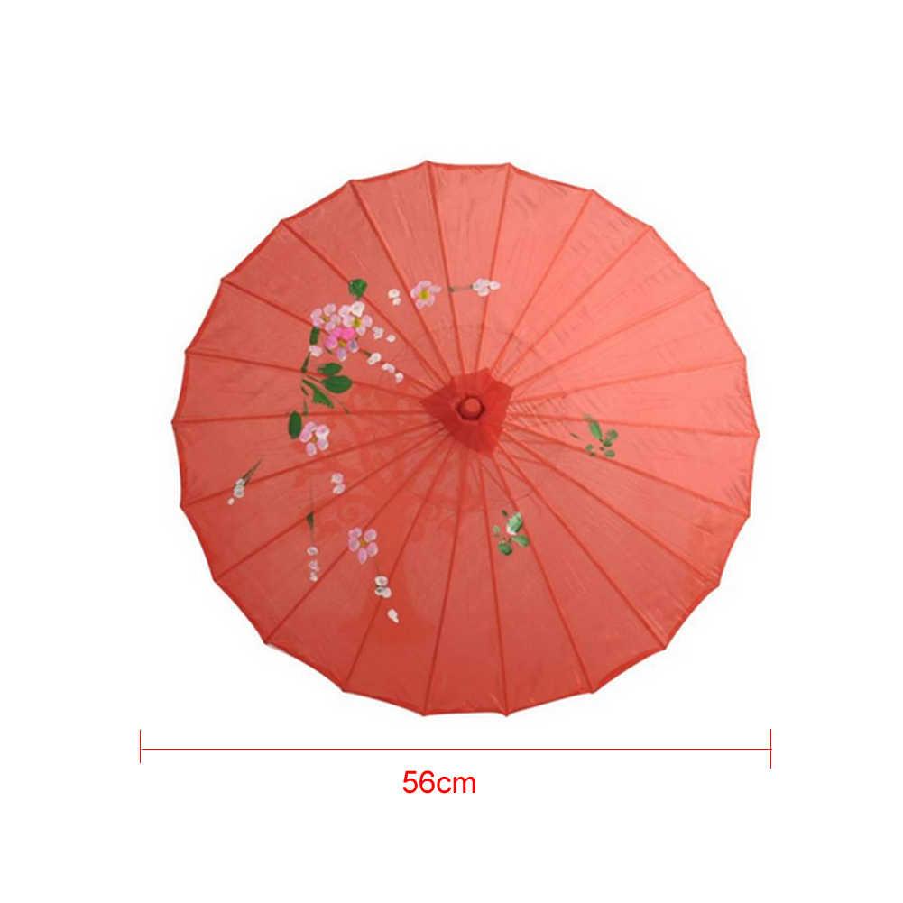 Chinois Vintage soie parapluie mariage Photo Parasol danse accessoires Vintage soie parapluie mariage Parasol danse accessoires décor à la maison